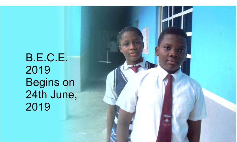BECE 2019 Chrysolite International Schools