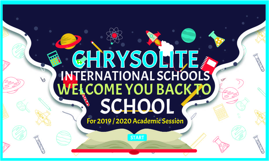 Chrysolite Welcome you Back to School